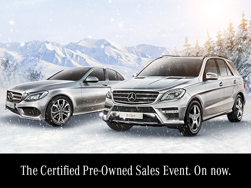The Certified Pre-Owned Sales Event. On now.