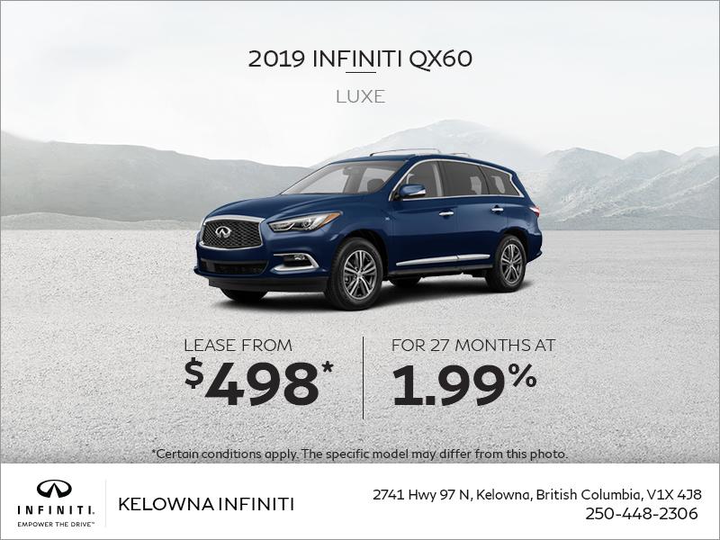 2019 QX60 Luxe
