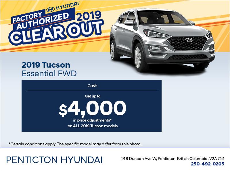 Get the 2019 Tucson!