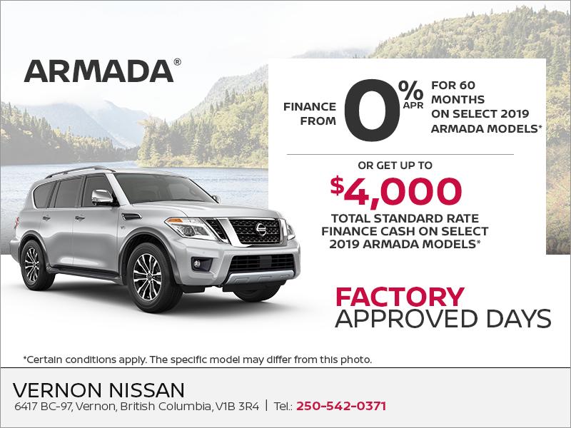 Get the 2019 Nissan Armada