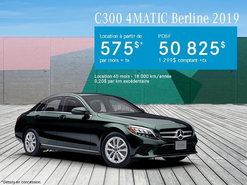 C300 4MATIC Berline 2019