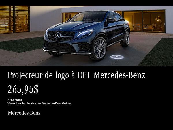 Projecteur DEL Mercedes-Benz.