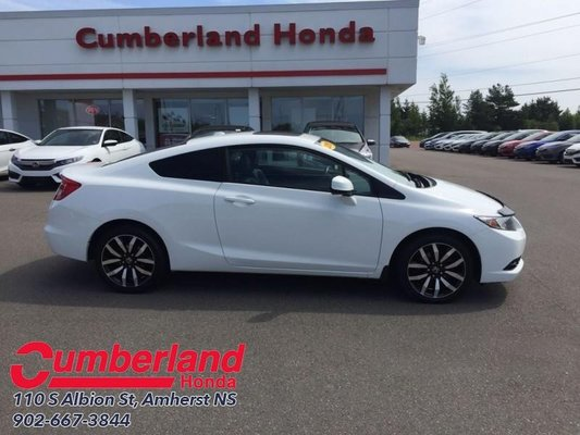 2013 Honda Civic Coupe >> Used 2013 Honda Civic Coupe Ex L W Navigation In Amherst