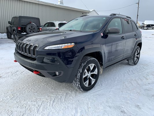Used 2016 Jeep Cherokee Trailhawk In Paspebiac Used Inventory