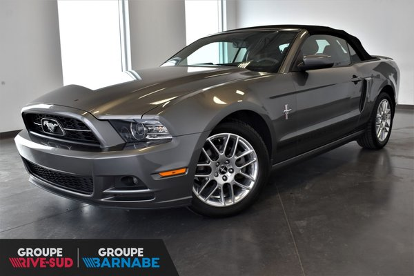 Used 2014 Ford Mustang Convertible V6 Premium Cuir Roll Bar In