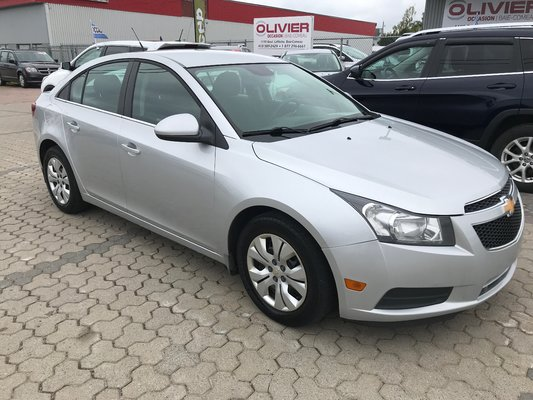 Used 2012 Chevrolet Cruze Lt Turbo In Baie Comeau Used Inventory Olivier Hyundai Baie Comeau In Baie Comeau Quebec