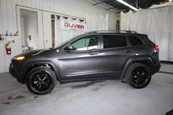 Used 2016 Jeep Cherokee Trailhawk In Sept Iles Used Inventory