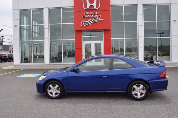 Used 2004 Honda Civic Cpe Si In Victoriaville Used Inventory