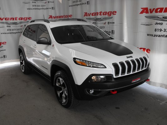 Used 2016 Jeep Cherokee Trailhawk In La Sarre Used Inventory