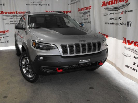 New 2019 Jeep Cherokee Trailhawk For Sale In La Sarre Avantage