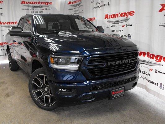 New 2019 Ram 1500 SPORT for sale in La Sarre - Avantage Chrysler in La Sarre, Quebec