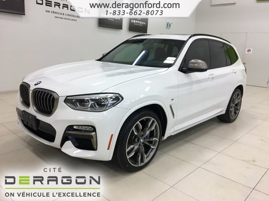Used 2018 Bmw X3 M40i 355hp Roues 21 Toit Pano Heads Up