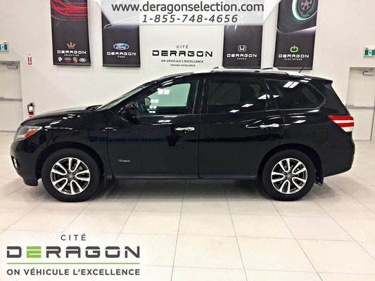 2014 nissan pathfinder sv hybride awd 7 places cam ra d 39 occasion cowansville inventaire d. Black Bedroom Furniture Sets. Home Design Ideas