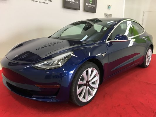 used 2018 tesla model 3 batterie longue autonomie intrieur premium in cowansville used inventory deragon selection in cowansville quebec