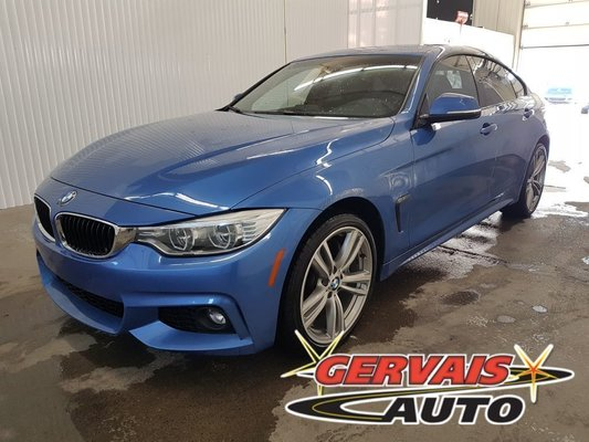 Bmw Trois Rivieres >> Used 2016 Bmw 4 Series 435i Xdrive Grand Coupe Gps Toit