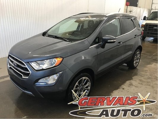 Used 2018 Ford Ecosport Titanium Awd Cuir Gps Toit Ouvrant Mags In