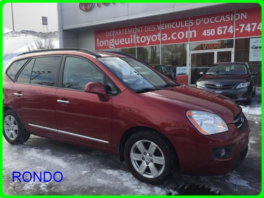 Used 2008 Kia Rondo Van V6 Ex At In Longueuil Used Inventory