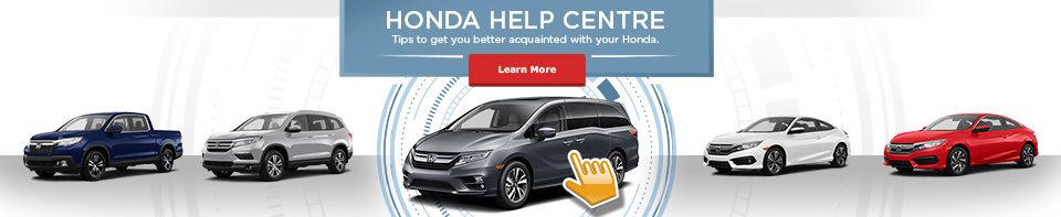 Help Centre Honda (banner)