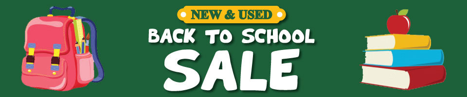 Back to School - Pre Owned