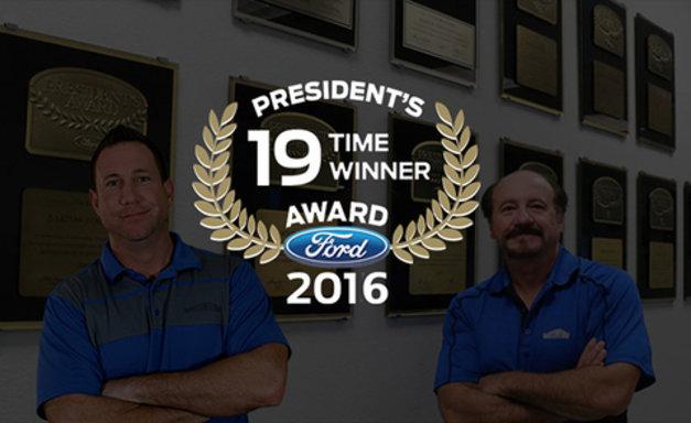 Ford's 19th President's Award Winner Announcement
