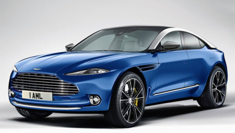 L'Aston Martin DBX s'approche de la production