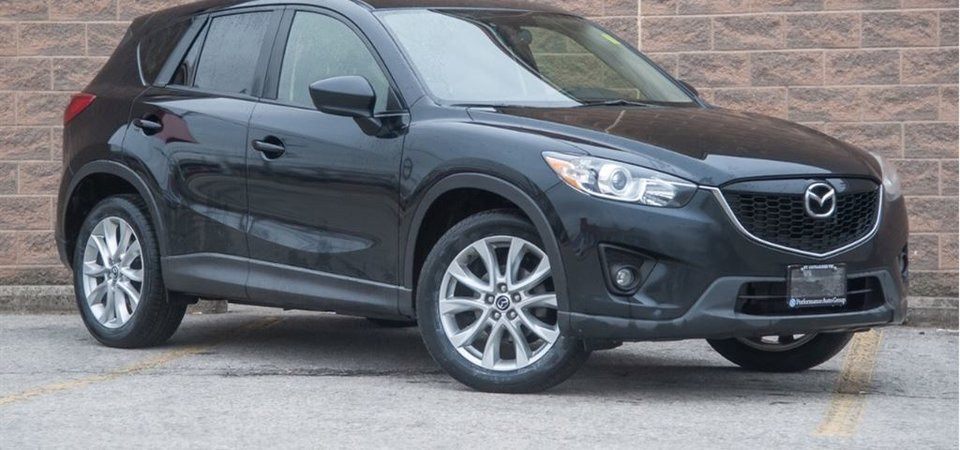 Used 2014 Mazda CX-5 GT Accident Free, One Owner, AWD Black 111,030 ...
