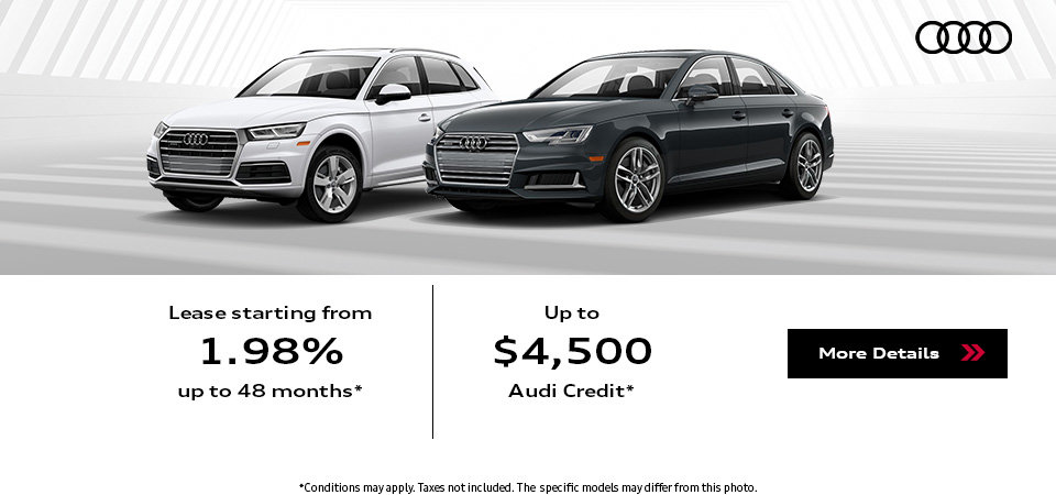 The Summer of Audi Sales Event