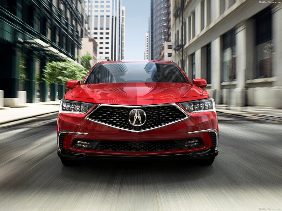 A New Design for the 2018 Acura RLX