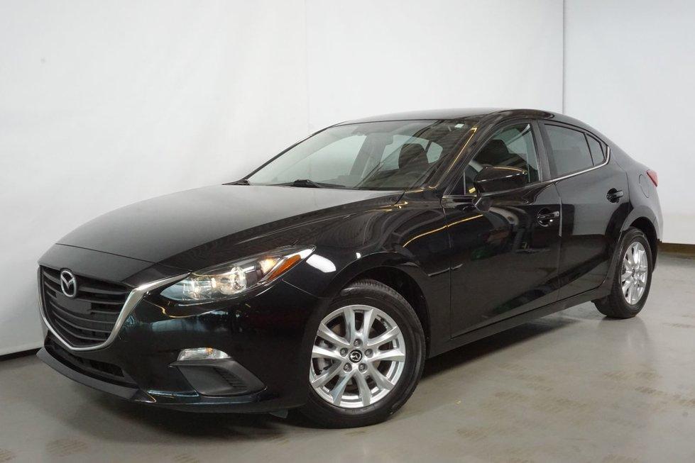 2015  Mazda3 GS MAG SIEGE CHAUFFANT