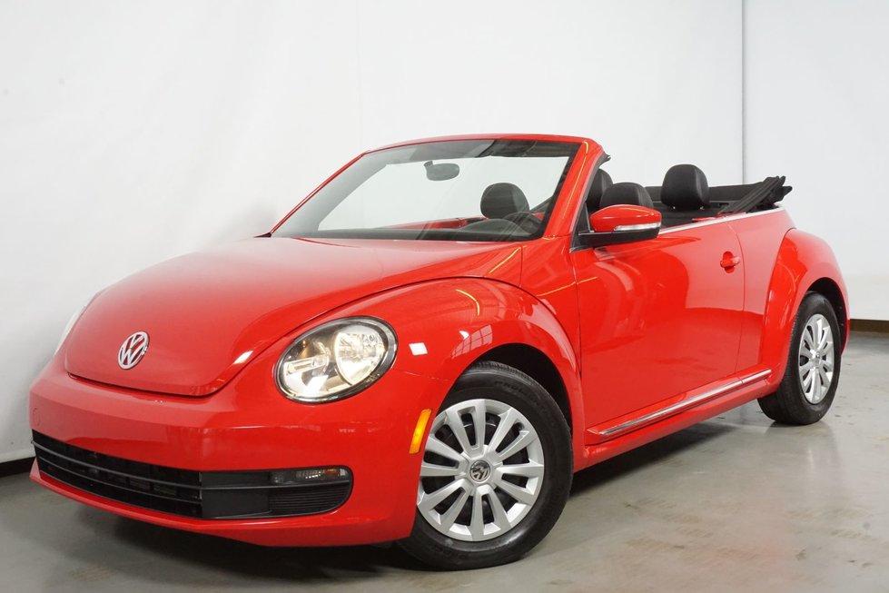 2015 Volkswagen Beetle Convertible 1.8TSI Trendline Decapotable