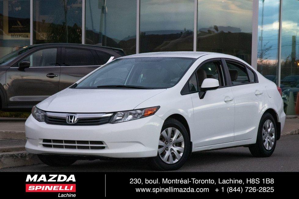 Honda Civic Sdn LX LOW KMS!! 2012