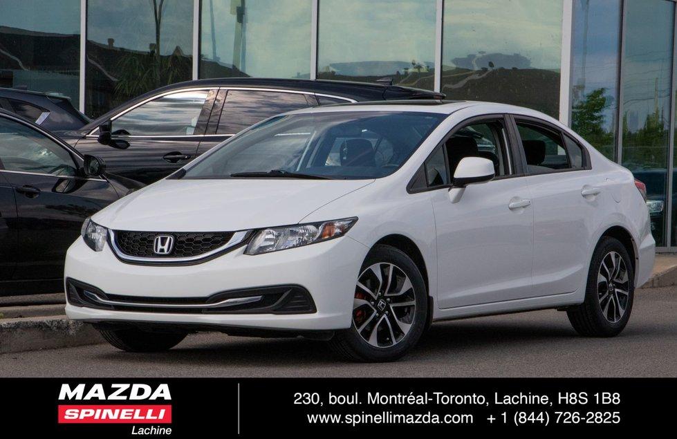 Honda Civic Sdn EX SEDAN TOIT BLUETOOTH 2013