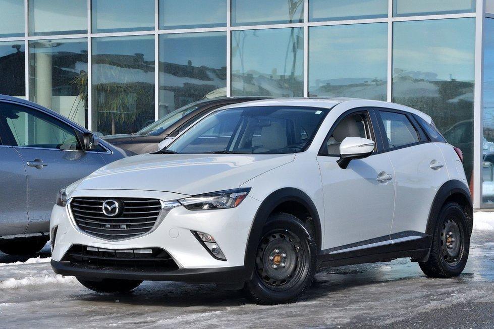 Mazda CX-3 GT 8 PNEU SUR JANTES CUIR NAVI 2016