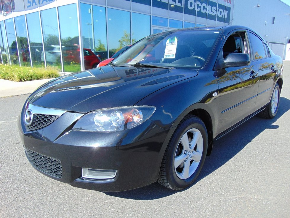 Spinelli Mazda Pre Owned 2008 Mazda3 Deal Pending Gs Manual Mags Propre In Montreal
