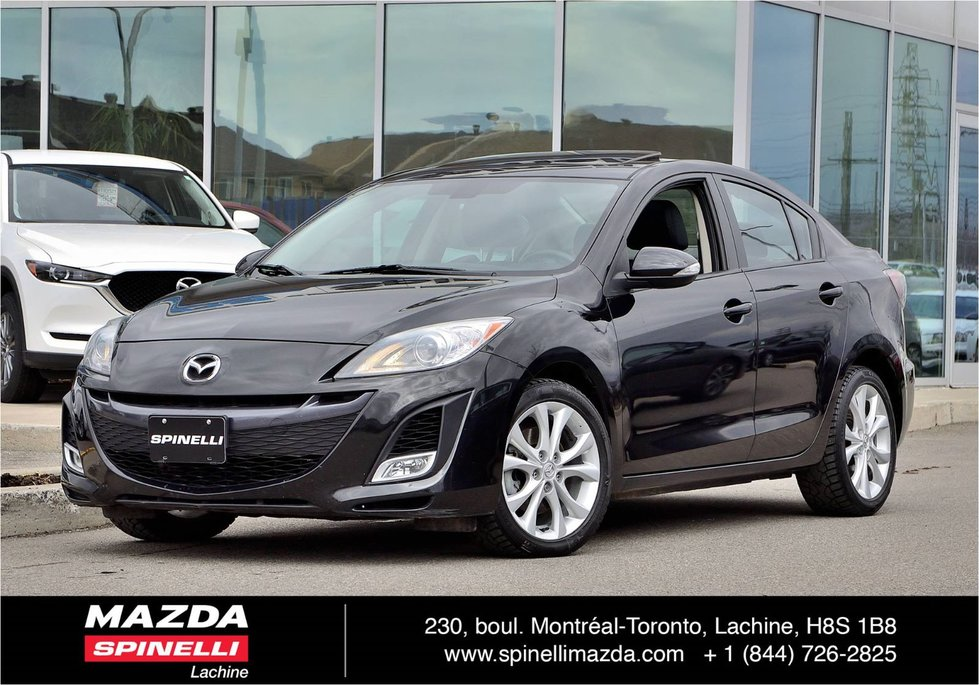 Spinelli Mazda Pre Owned 2010 Mazda3 Gt Auto Toit Cuir In