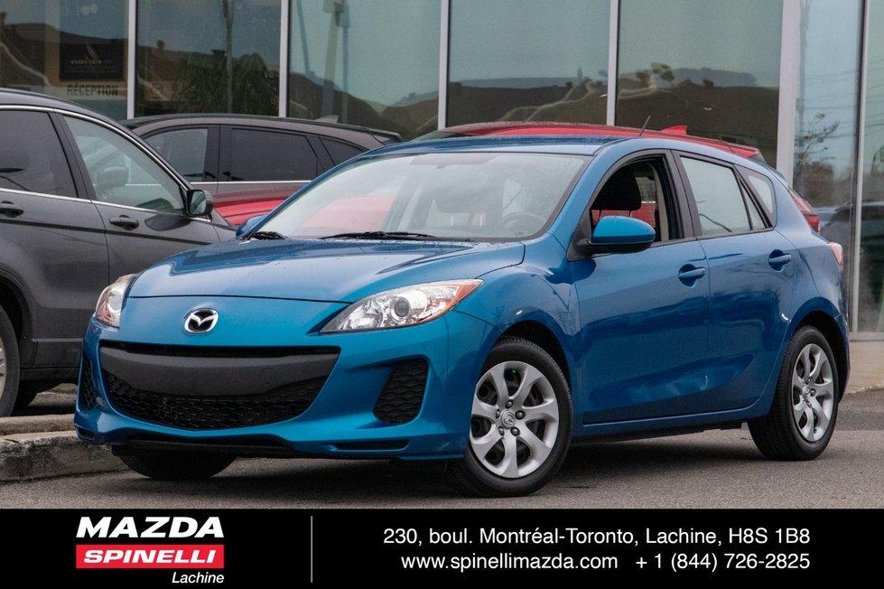 2012  Mazda3 GX AUTO SPORT LOW KMS