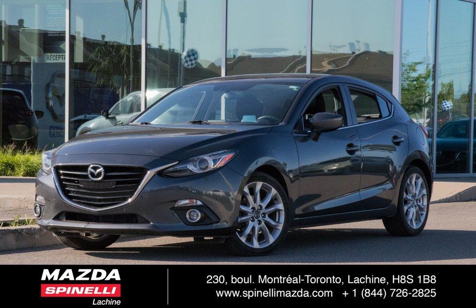 Mazda Mazda3 GT-SKY TOIT 8 PNEUS HUD NAVI 2014