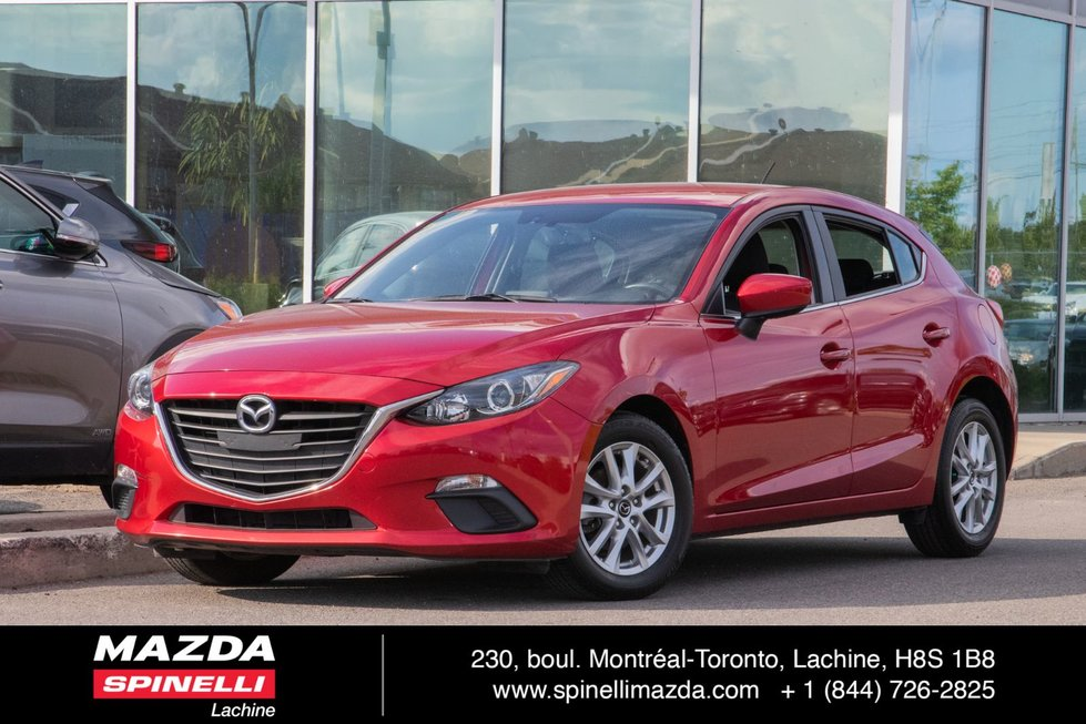 2015  Mazda3 GS SPORT 6 SPEED BLUETOOTH