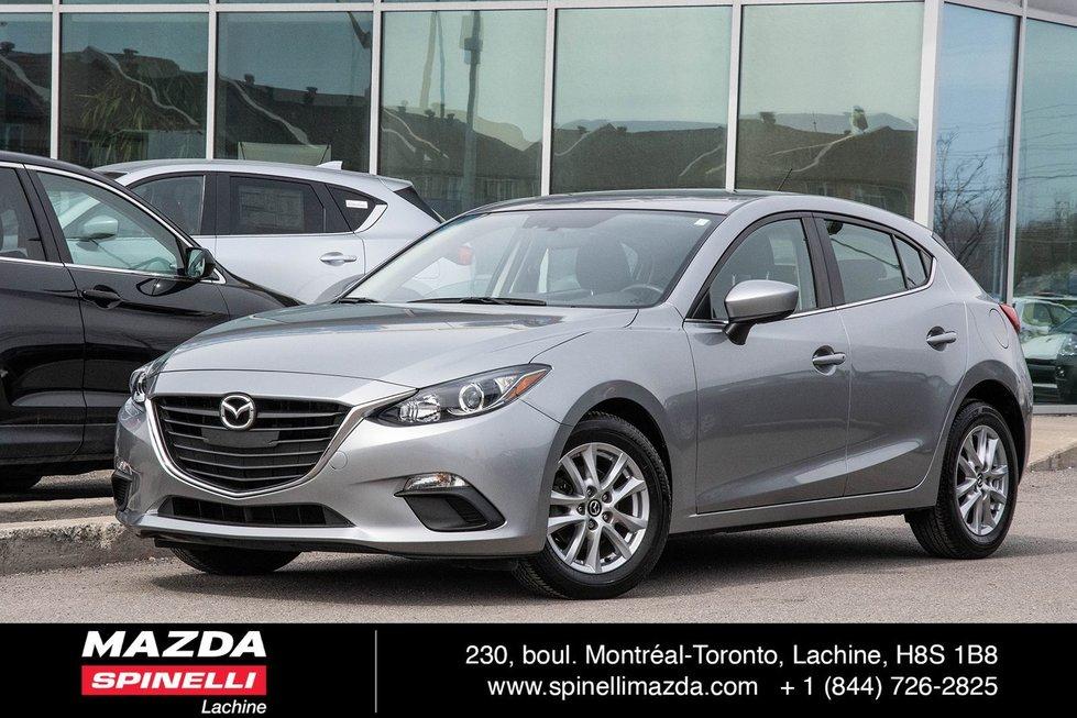 Mazda3 GS SPORT BAS KILO CAMERA SIÈGE CHAUFFANT TOIT NAV 2016