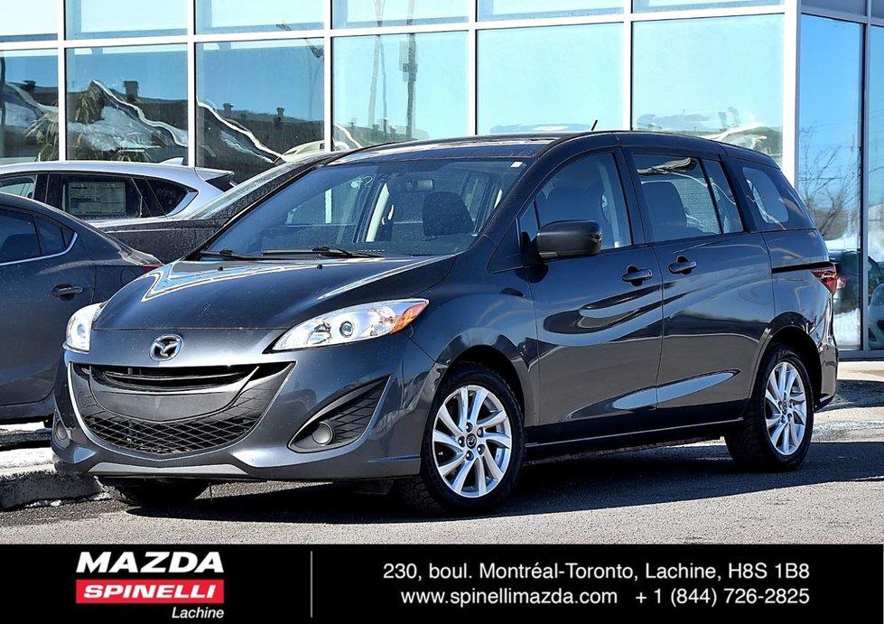 Mazda Mazda5 GS UN PROPRIÉTAIRE BAS KM PROPRE 2013