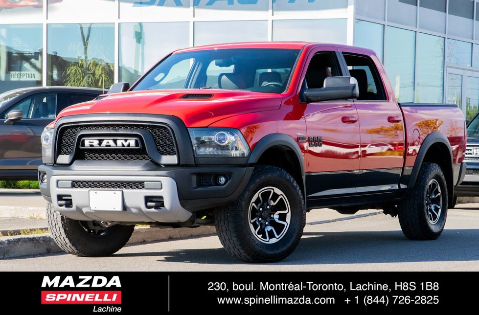 Ram 1500 Rebel GPS TOIT FULL EQIP 2016