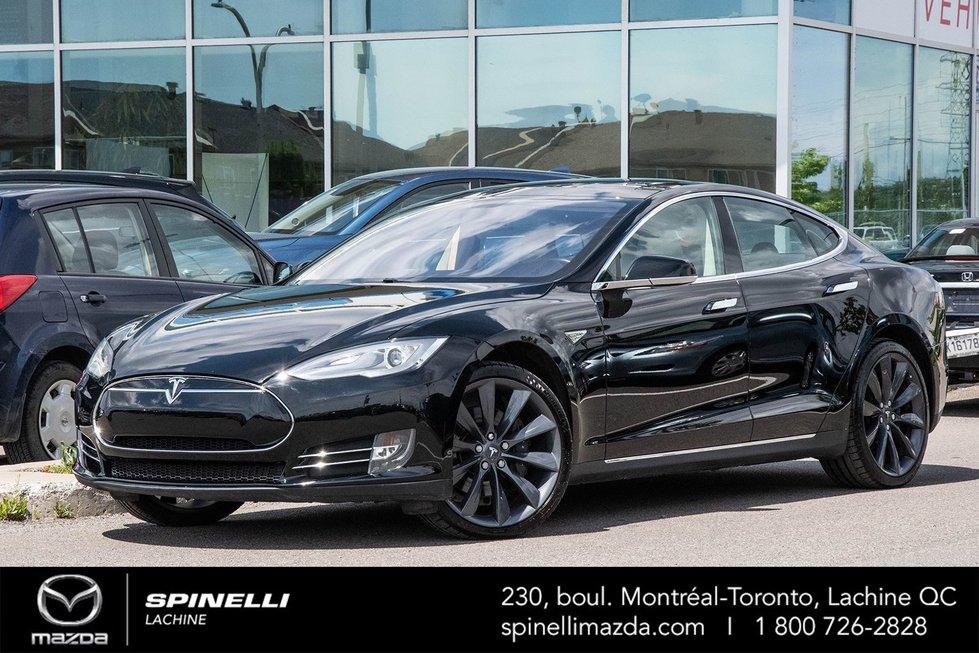 2013 Tesla Model S P85+ 450-500 KM RANGE FREE SUPER CHARGER FOR LIFE