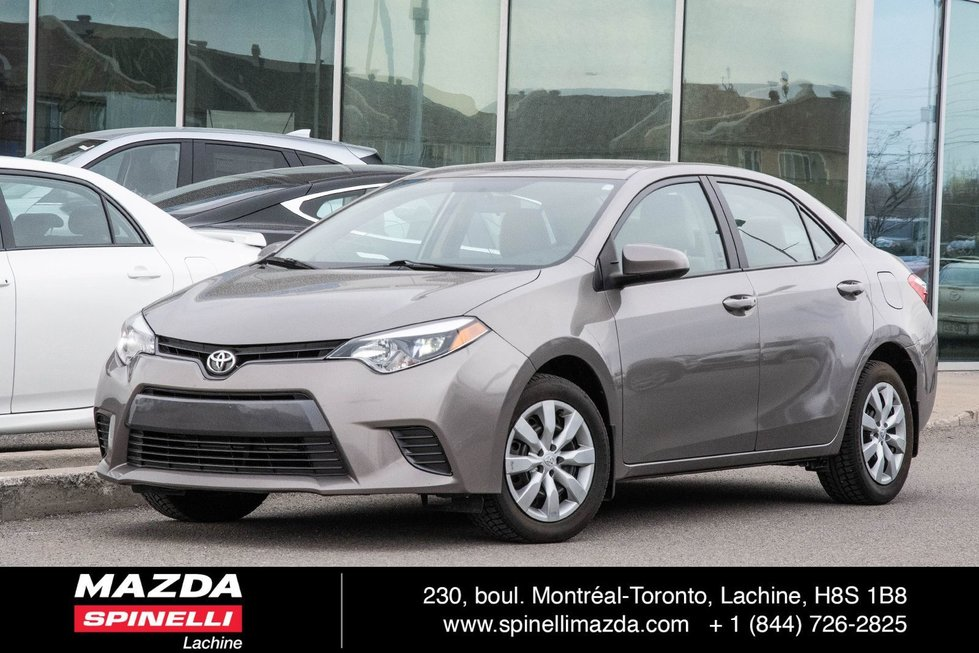 2016 Toyota Corolla LE CAMERA BLUETOOTH
