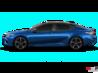Éclair Bleu métallisé avec toit noir